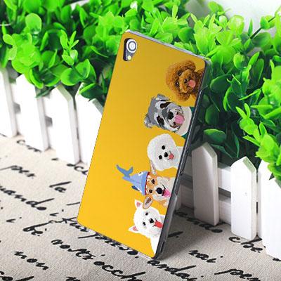 Sony Xperia Z5 Compact Premium E6653 E6853 mini E5823 Z5C Z5P 手機殼 硬殼 狗狗家族