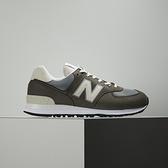 New Balance 男 灰 麂皮 復古 運動 慢跑 休閒鞋 ML574SRP