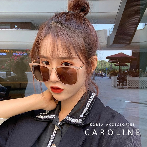 《Caroline》韓系質感熱門款網紅甜美魅力、迷人風采太陽眼鏡72427
