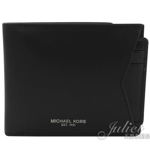 茱麗葉精品【全新現貨】MICHAEL KORS GIFTING 短夾名片夾鑰匙圈禮盒組.黑