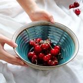 碗創意日式拉麵碗斗笠碗家用面條碗個性湯碗復古陶瓷大面碗 瑪奇哈朵
