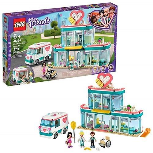 LEGO 樂高 Friends Heartlake City Hospital 41394 最佳醫生玩具 (379 件)