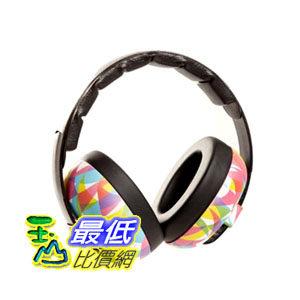 [2美國直購] (請備註寶貝年齡) 花色 Baby Banz earBanZ Infant Hearing Protection, Geo Print 兒童防噪音耳罩
