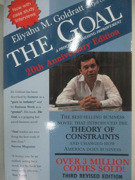 【書寶二手書T4/財經企管_DXJ】GOAL: GOAL_Goldratt, Eliyahu M./ Cox, Jeff