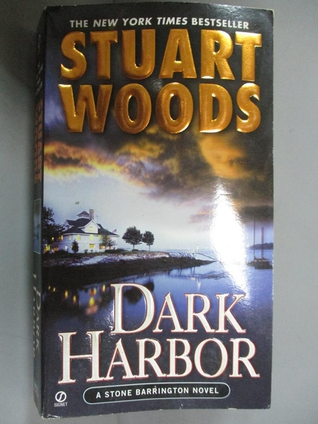 【書寶二手書T7/原文小說_HOB】Dark Harbor_Woods, Stuart