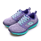 LIKA夢 LOTTO 雙密度輕量美體健步鞋 EASY WALK 系列 紫藍綠 0677 女