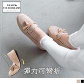 《SD0161》台灣製造~仿皮革減壓彈力兩穿休閒鞋 OrangeBear