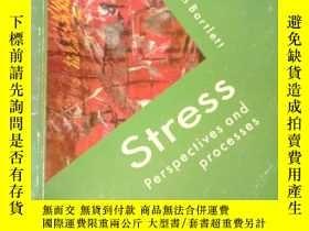 二手書博民逛書店罕見Stress (Health Psychology)Y153