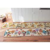 日本迪士尼米奇米妮唐老鴨維尼房屋蜂蜜廚房地墊地毯45x150公分代購通販屋