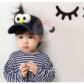 親子芝麻街可愛賣萌大眼睛空頂帽子(1入) 3色可選【小三美日】原價$179