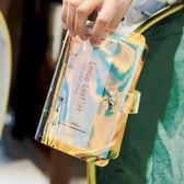 筆記本手賬本筆記本子文具 韓國小清新簡約活頁紙記事本隨身創意手帳本 台北日光