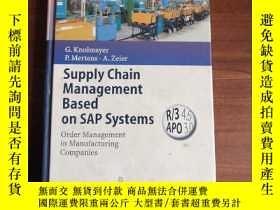 二手書博民逛書店Supply罕見Chain Management Based o