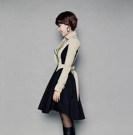 風衣大衣-細緻明星同款隨意女長版外套5z57[巴黎精品]
