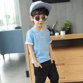 韓版寬鬆男童純棉短袖T恤