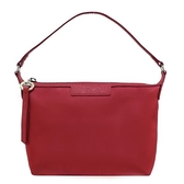 【南紡購物中心】LONGCHAMP LE PLIAGE NÉO 系列新款厚尼龍肩背/手拿兩用包(紅)