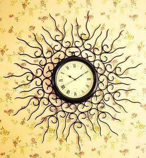 鐵藝壁掛鐘