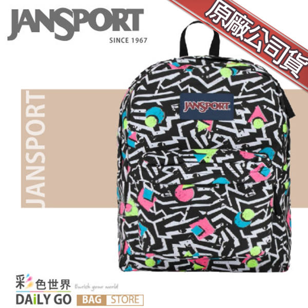 JANSPORT後背包包大容量JS-43501-0EK比波普