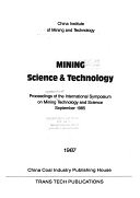二手書 Mining Science & Technology: Proceedings of the International Symposium on Mining Technology an R2Y 0878490590