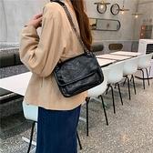 包包女包新款2021韓版大容量鏈條包高級感單肩斜跨包復古手提包潮 夏季新品