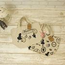 日本經典童話.愛麗絲.剪影棉麻.帆布袋....