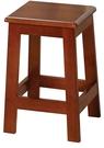 【南洋風休閒傢俱】餐椅系列- 田園油木/松木方高板凳 實木仿古餐椅 小吃甜品點餐椅(TU142 AR42)