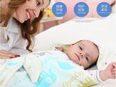 嬰兒抱被新生兒包被春秋純棉蓋毯抱毯寶寶襁褓春夏季紗布包巾被子 卡布奇诺