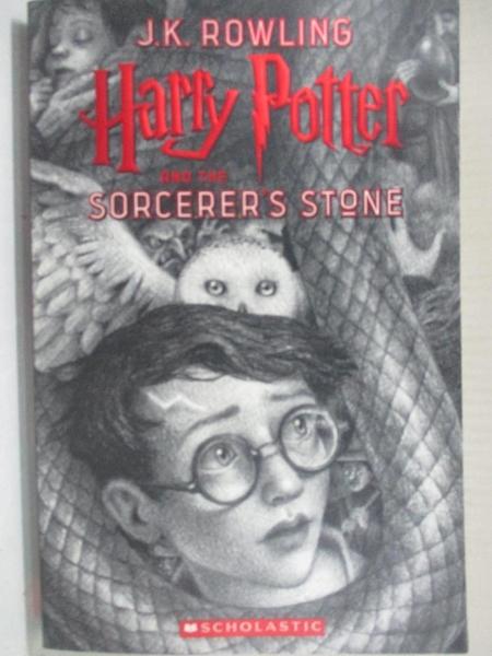 【書寶二手書T1/原文小說_BSH】Harry Potter and the Sorcerer s Stone_Rowling, J. K.