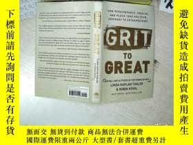 二手書博民逛書店Grit罕見to Great 粗暴到偉大 32開 01Y2611