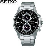 【時間光廊】SEIKO 精工錶 SPIRIT 黑 光動能 萬年曆 藍寶石水晶鏡面 全新原廠公司貨 SBPJ005J