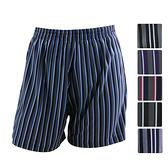 【源之氣】竹炭男條紋四角內褲(超值3入) RM-10100-台灣製