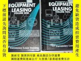 二手書博民逛書店The罕見Handbook of Equipment Leasing (1-2卷)設備租賃手冊 英文原版精裝