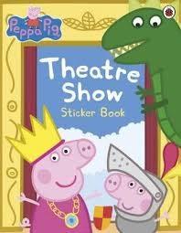 【佩佩豬】PEPPA PIG:TREATRE SHOW STICKER BOOK /貼紙書