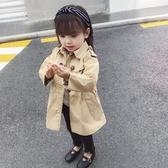 女童外套 女童風衣外套春秋2020新款韓版中長款小兒童秋季上衣寶寶洋氣秋裝-米蘭街頭