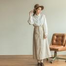 Queen Shop【03020763】經典格紋毛呢長裙 兩色售 S/M/L*現+預*