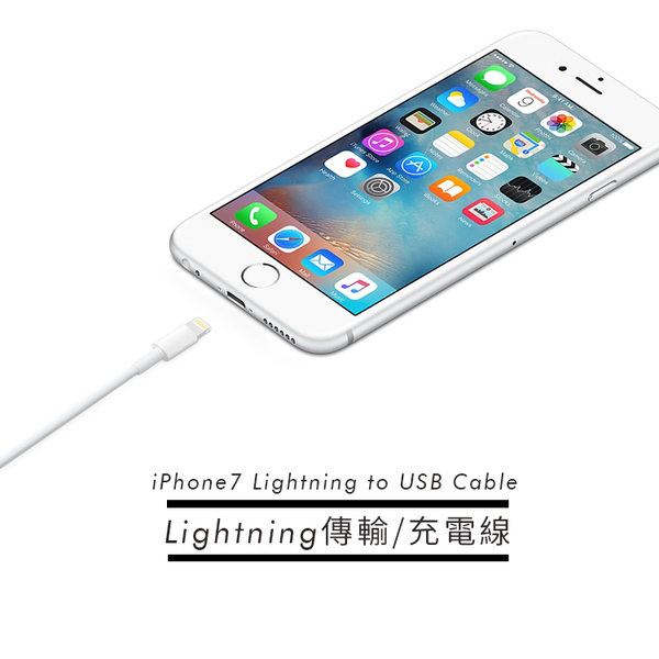 APPLE 1米原廠新版Lightning 8pin 傳輸充電線 iPhone 11/X/XS/XR iPhone 8/iPhone 7/ 贈保護套 [ WiNi ]