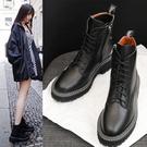 馬丁靴女英倫風2020新款短靴女春秋單靴百搭帥氣網紅靴子