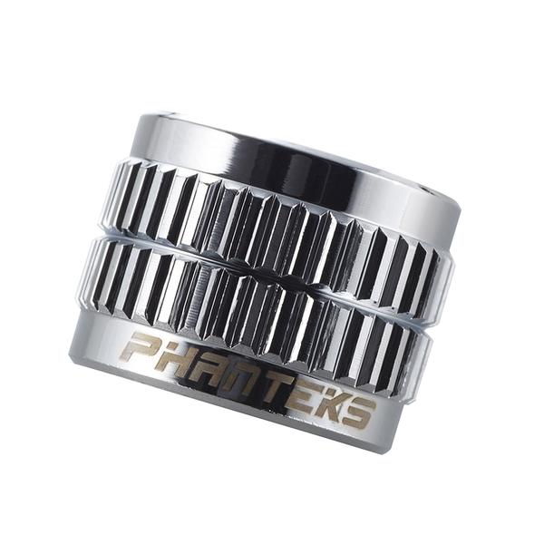 Phanteks 追風者 PH-FFA_CR_G1/4母對母延伸接頭14mm - 銀色