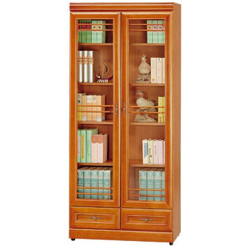 《AccessCo》樟木2.7尺下抽收納書櫃