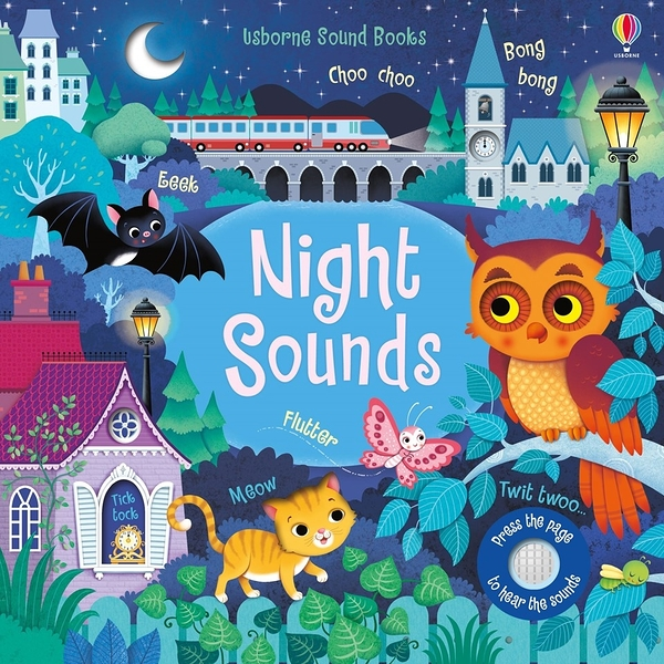 Touchy-Feely Sound Books:Night Sounds 夜晚聲音 觸摸有聲書