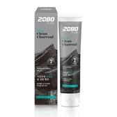 【韓國2080】北歐純椰活性碳淨白牙膏120gX6入-箱購