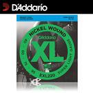 【非凡樂器】D'Addario 電貝斯弦EXL220 獨立包裝/鎳弦/四弦貝斯使用【40-95】