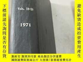 二手書博民逛書店organometallc罕見compounds Vol.18-