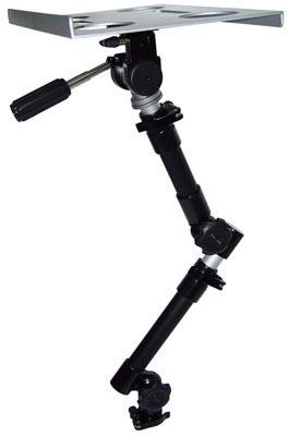 [A520]筆記型電腦車架-汽車用筆電架.平板電腦車用架.車用相機架.旋臂支架.飲料架,台灣製造