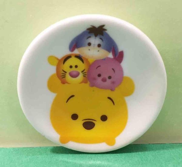 【震撼精品百貨】Winnie the Pooh 小熊維尼~瓷器小圓盤~Q版#23509