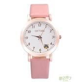 兒童手錶 正韓中小學生手錶女童防水電子石英錶兒童手錶女孩男孩可愛卡通錶 【快速出貨】