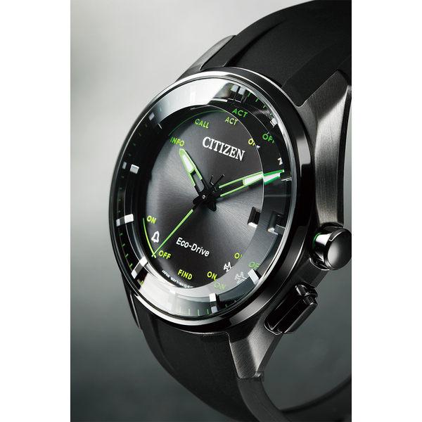【滿額禮電影票】CITIZEN 星辰 限量鈦金屬光動能藍芽手錶-黑/40mm BZ4005-03E