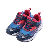 蜘蛛人 電燈輕量運動鞋 藍紅 MNKX11206 中大童鞋