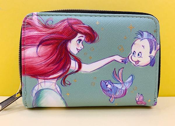 【震撼精品百貨】The Little Mermaid Ariel_小美人魚愛麗兒~迪士尼公主系列卡片收納包-小美人魚#04211