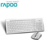 【綠蔭-免運】Rapoo 雷柏8200P-白 無線光學鍵鼠組