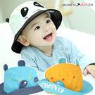 超萌熊貓造型遮陽帽 漁夫帽